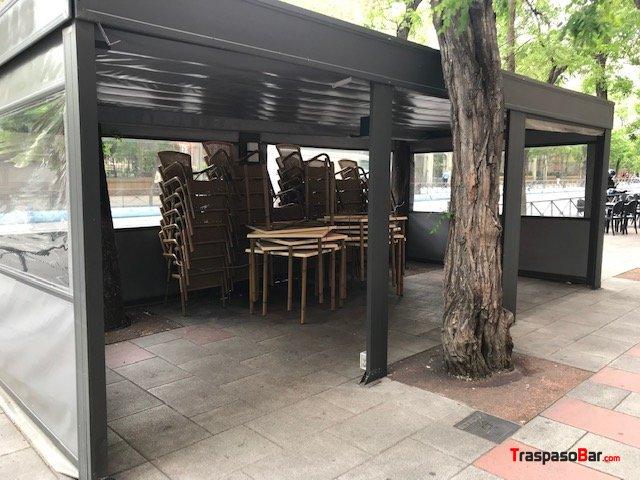 11 Mesas De Terraza Barrio De Salamanca En Madrid 21379